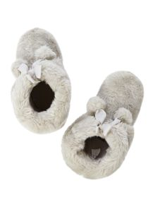 Therapy Pom Pom Slipper Boot