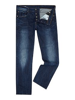 Revend Straight Med Aged Accel Jeans