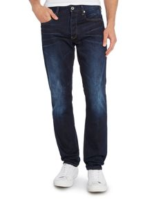 3301 Hadron Tapered Dark Wash Jeans