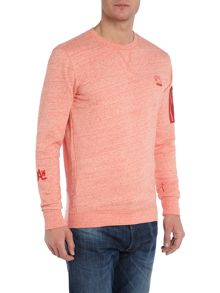 Hecker Tapered Fit Pocket Sleeve Sweat