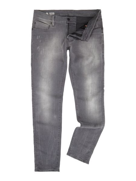 G-Star Defend Super Slim Light Aged Destroy Jeans