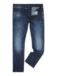 G-Star Attacc Straight Dark Aged Stretch Jeans