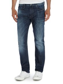 Attacc Straight Leg Dark Wash Jeans