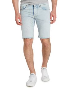 3301 Light Aged Wisk Denim Shorts