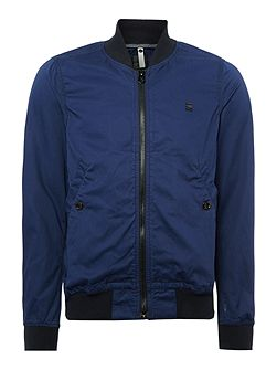 Shattor Slim Zip Up Bomber Jacket