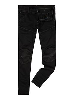 5620 3D Super Slim Slander Black Jeans