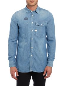 G-Star Landoh Slim Fit Long Sleeve Shirt