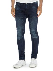 Elwood 3D Super Slim Light Wash Jeans