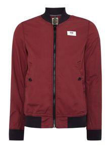 G-Star Sham Ribbed Collar Zip Up Bomber Jacket