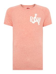 Regular Fit Graphic Crew Neck T-Shirt
