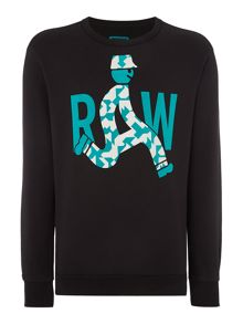 G-Star Marsh Graphic Crew Neck Jumper
