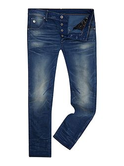 Arc 3D Slim Med Aged Firro Jeans