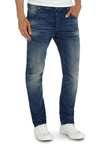 Arc 3D Slim Fit Light Wash Mid Rise Jeans