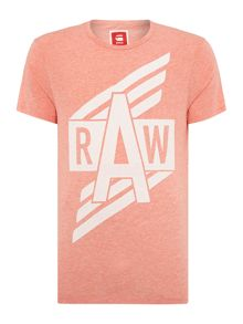 Ilay Raw Graphic Crew Neck T-Shirt