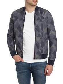 G-Star Shattor Slim Lightweight Zip Up Bomber Jacket