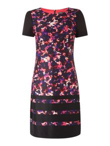 Vince Camuto Ditsy floral cap sleeve dress