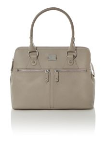 Pippa grey tote bag