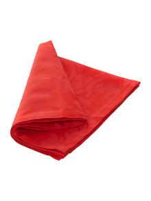 Linea red cambridge napkins
