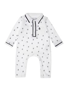 Newborn All Over Print All In One With Pocket