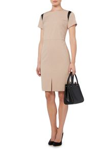 Soft tailored shift dress