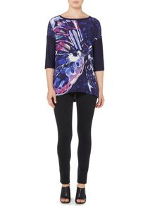 Pennyblack Reame butterfly print top