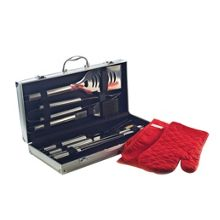 BBQ 19pc Metal Case Set