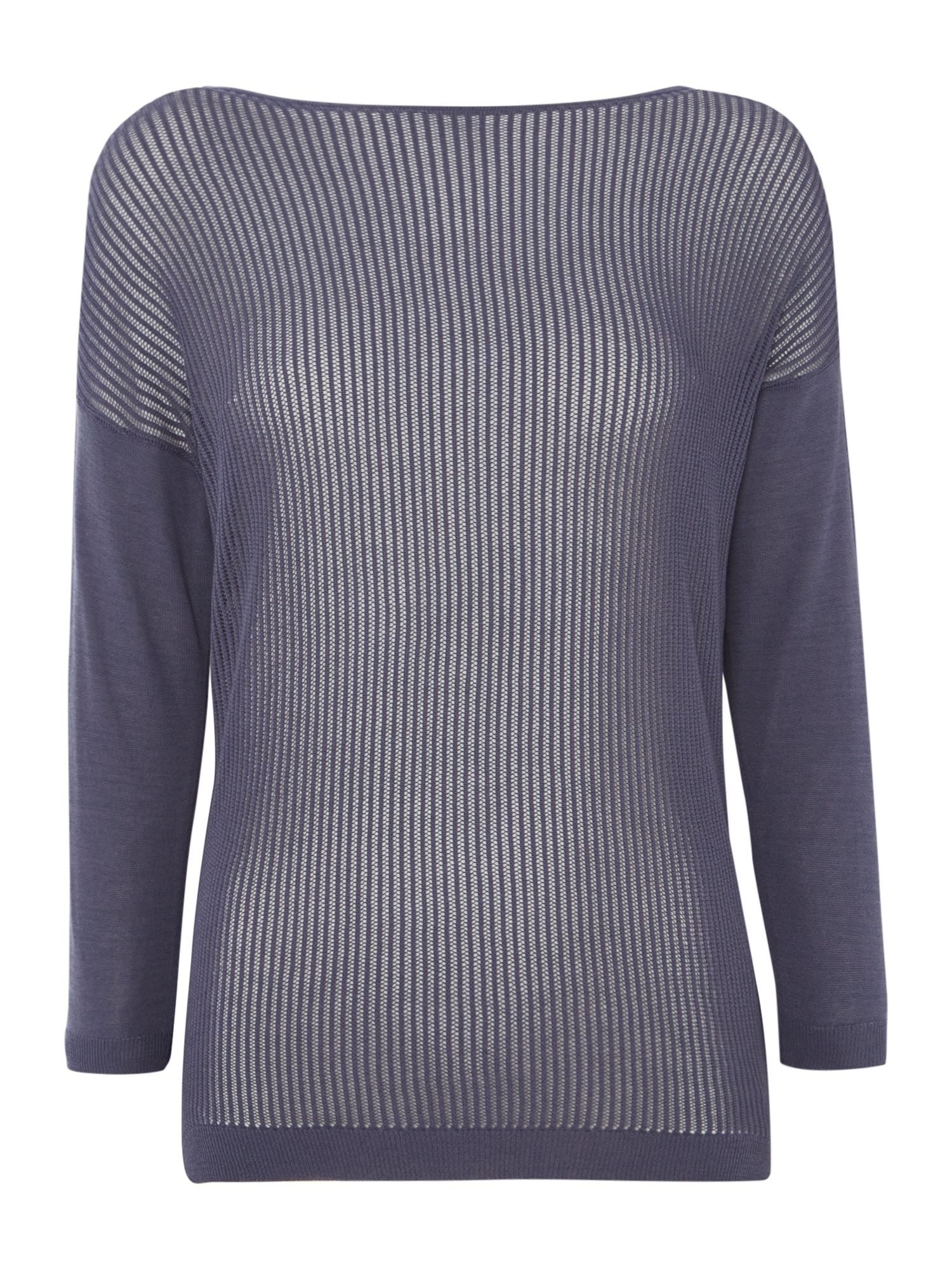 Great Plains Great Plains Lilla Stitch Jumper, Blue