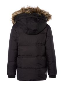 Boys Down Filled Jacket With Detachable Hood