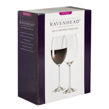 Mystique Box of 2 Red Wine Glasses