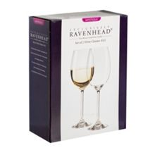 Mystique Box of 2 White Wine Glasses