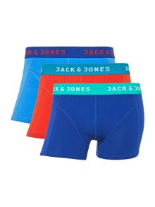 3 Pack Solid Colour Regular Trunk