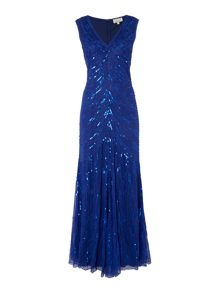 Sequin Fishtail Maxi