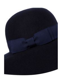 Helene Berman Large Bow Floppy Hat