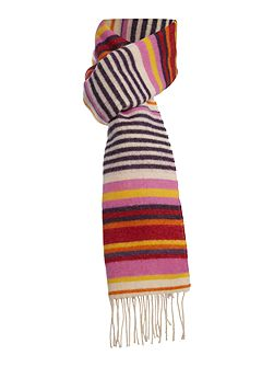 Double Sided Stripe Scarf