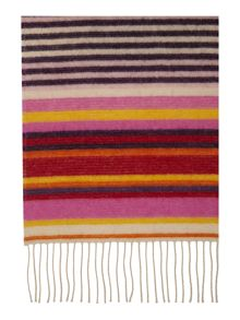 Glen Prince Double Sided Stripe Scarf