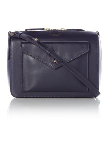 Keats grove small navy cross body bag
