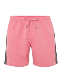 Armani Jeans Drawstring Taping Logo Swimming Shorts