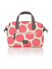 Spot on pink cross body bag