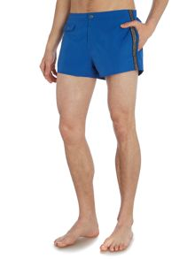 Armani Jeans Logo Drawstring Swimming Shorts