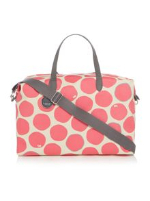 Spot on large crossbody bag