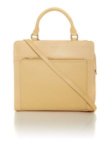 Clerkenwell yellow tote cross body bag