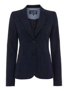 Armani Jeans Single breasted blazer