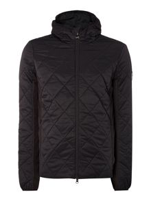 Casual Full Zip Quilted Jacket