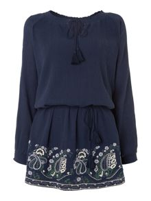 Linea Weekend Embroidery Dawn Folk Tunic