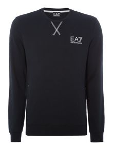 Print Crew Neck Pull Over Jumpers
