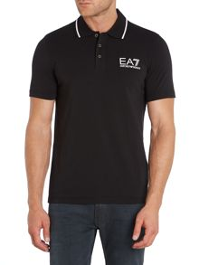 EA7 Logo Polo Regular Fit Polo Shirt