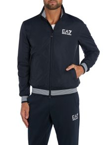 Casual Showerproof Full Zip Windbreaker