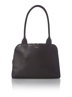 Millbank black medium shoulder bag