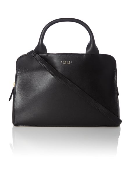 Radley Milbank black medium tote cross body bag