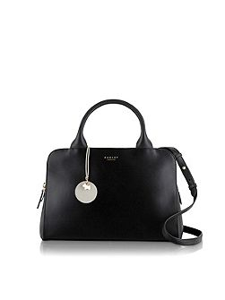 Millbank black medium tote cross body bag